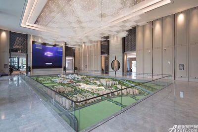 绿地·宿州城际空间站宿州绿地城城市会客厅实景图