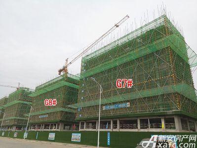 新滨湖孔雀城工程进度