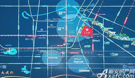 金隅大成郡交通图