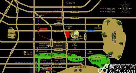 滨湖一号交通图