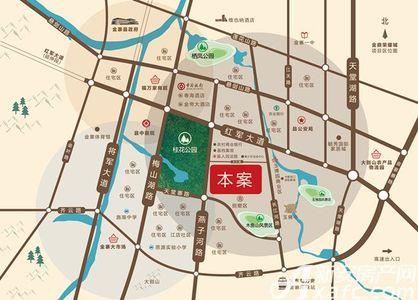 金鼎荣耀城交通图