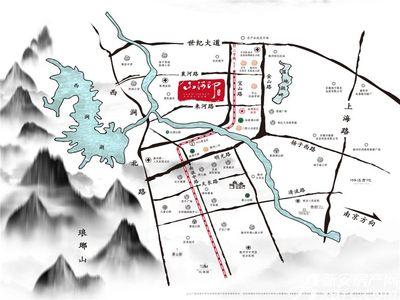 金鹏山河印交通图