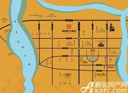 碧桂园印春秋交通图