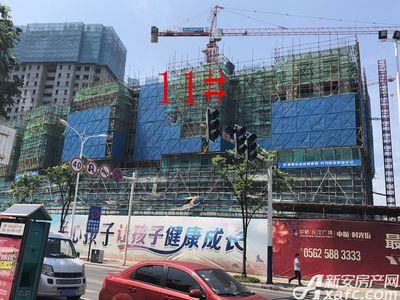 中航长江广场11#楼6月进度(2018.6.21)