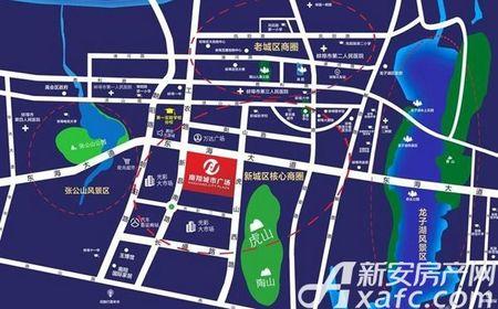 南翔城市广场交通图