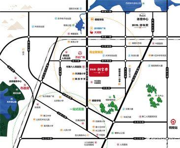 碧桂园·铜官乐交通图
