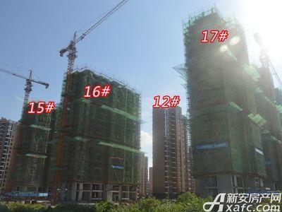 大地凤凰城12#  15# 16# 17#工程进度(2018-06-25)