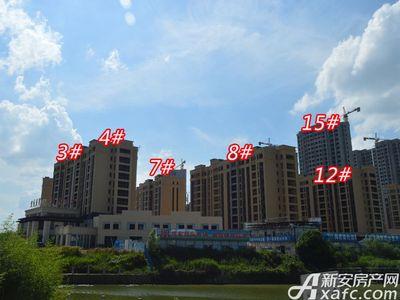 宜秀蓝湾3# 4# 7# 8# 12# 15#工程进度(2018-06-25)