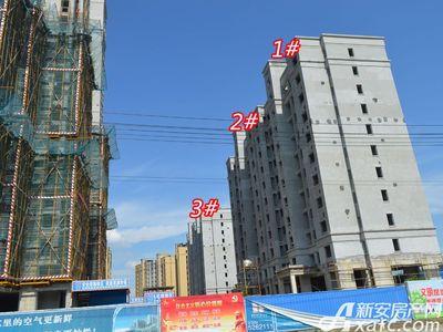 宜秀蓝湾1# 2# 3#工程进度(2018-06-25)