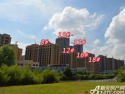 宜秀蓝湾8# 12# 15# 16# 17# 18#工程进度(2018-06-25)