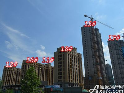 宜秀蓝湾11#12# 15# 16# 17# 18#工程进度(2018-06-25)