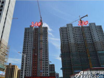 宜秀蓝湾13# 14#工程进度(2018-06-25)