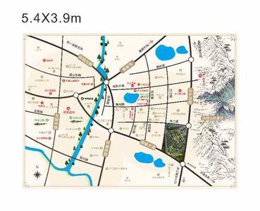 华盛江山御府交通图