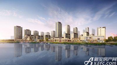 中南漫悦湾西侧沿湖效果图