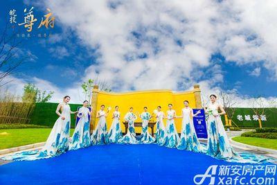 皖投尊府景观示范区开放(2018.07.08)