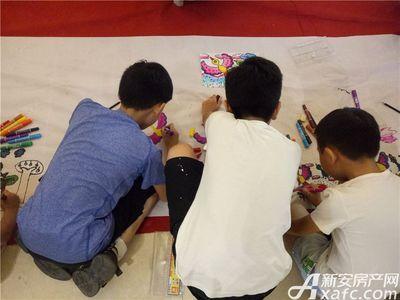 淮北凤凰城亲子涂鸦活动20180715