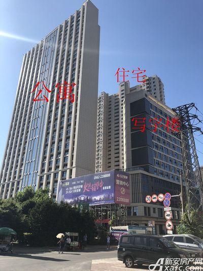 铜化弘宇嘉城公寓、住宅、写字楼7月进度(2018.7.17)