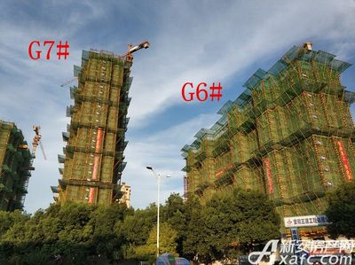 高速铜都天地G6#、G7#楼项目进度(2018.7.18)