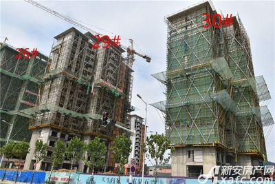 碧桂园•钻石湾碧桂园钻石湾7月份项目进度