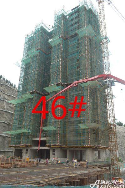 淮北凤凰城46#工程进度20180723