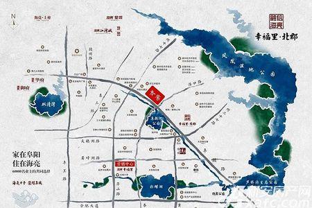 海亮幸福里北郡交通图