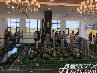 帝景京安府营销中心沙盘(2018.7.29)