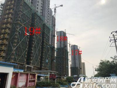 淮河新城第五园工程进度
