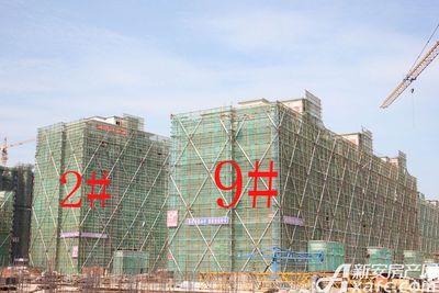 观湖花园9#工程进度(2018.7.31)