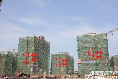 观湖花园3#工程进度(2018.7.31)