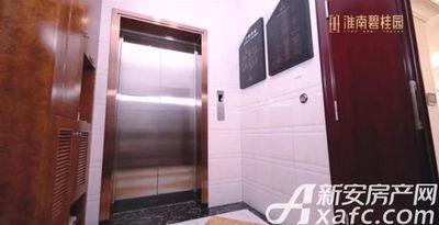淮南碧桂园C户型230㎡电梯厅