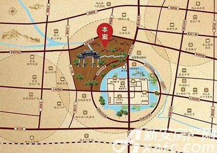 砀山古城交通图