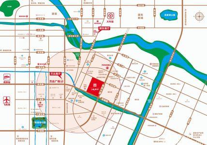 百润城南印交通图