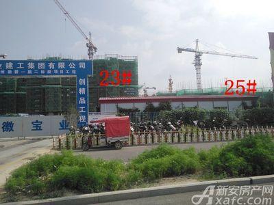 碧桂园城市之光23#、25#项目进度(2018.08)