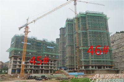 淮北凤凰城45#46#工程进度20180816