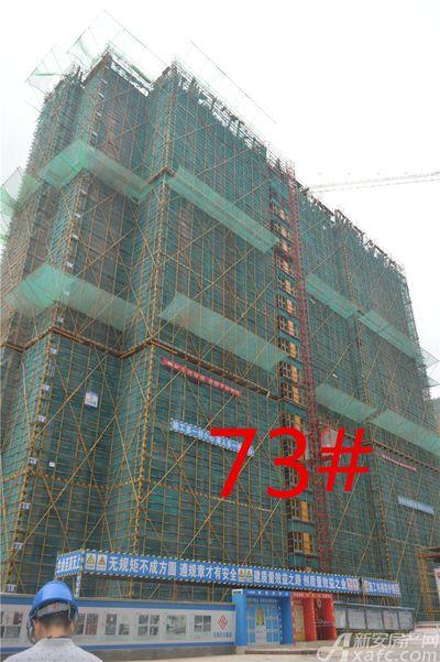 淮北凤凰城73#工程进度20180816