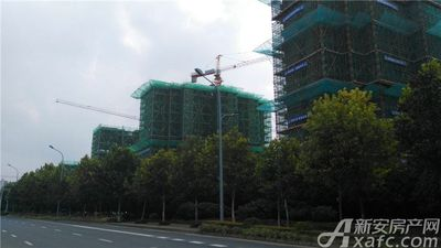 保利信达熙悦府A13#楼工程进度(2018.08.20)