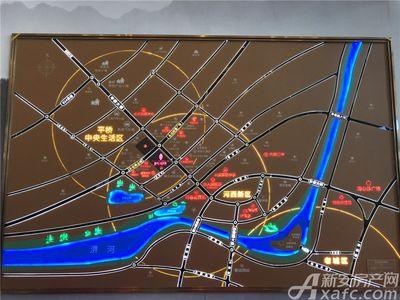 国祯健康城交通图