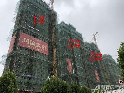 滨江壹号院1#、2#、3#楼8月进度(2018.8.22)