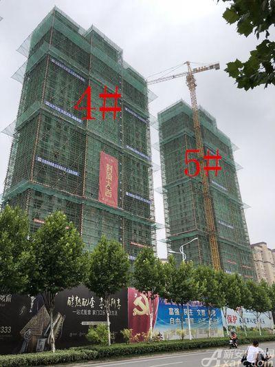 滨江壹号院4#、5#楼8月进度(2018.8.22)