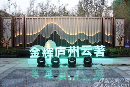金辉庐州云著实景图