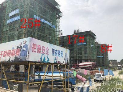 淮矿·东方蓝海东方蓝海•舜耕华府项目进度(2018.8.16)