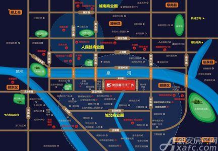 奥园嘉年华广场交通图