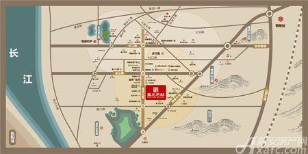 鼎元府邸交通图