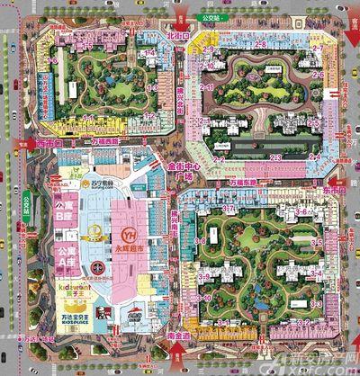 宿州万达广场宿州万达广场导引图