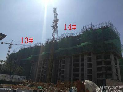 恒大御府13#、14#楼项目进度(2018.9.10)