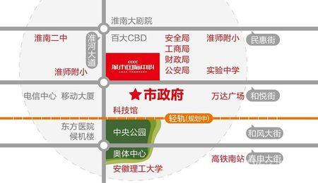 城市国际中心交通图