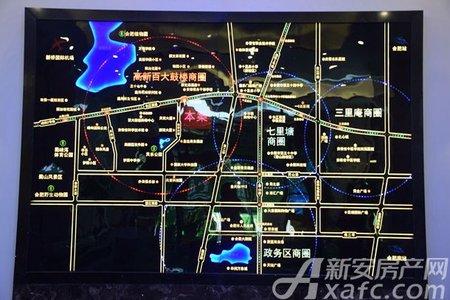 信铃国际天启交通图