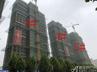 滨江壹号院3#、4#、5#楼9月进度(2018.9.17)