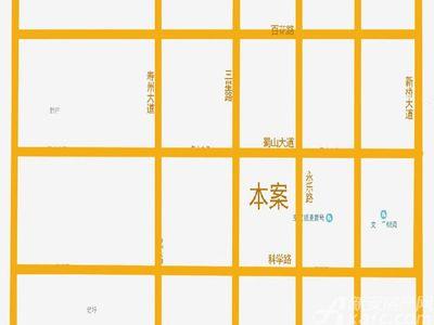 文一蜀溪湾交通图