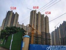 恒大绿洲45#、46#、55#楼项目进度(2018.9.21)